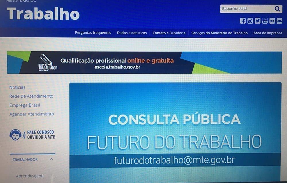 Agendamento no saa.mte.gov.br